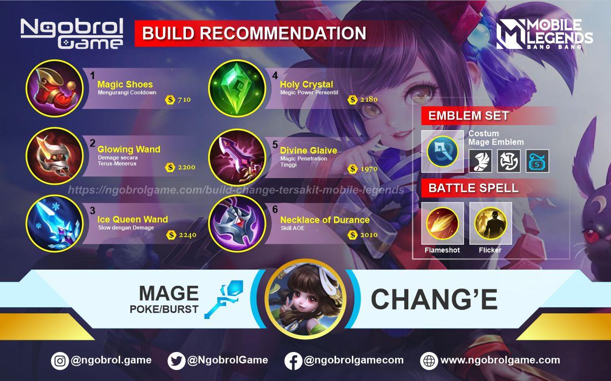 Build Change  Savage Mobile Legends