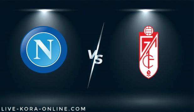 مشاهدة مباراة غرناطه و نابولي بث مباشر اليوم بتاريخ 18-02-2021 في الدوري الاوروبي