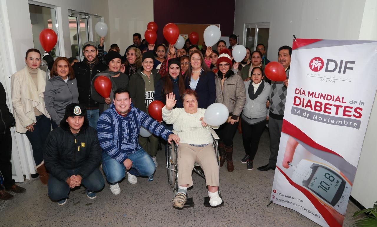 Conmemora DIF Matamoros Día Mundial de la Diabetes con acciones preventivas 5731ee28075fe