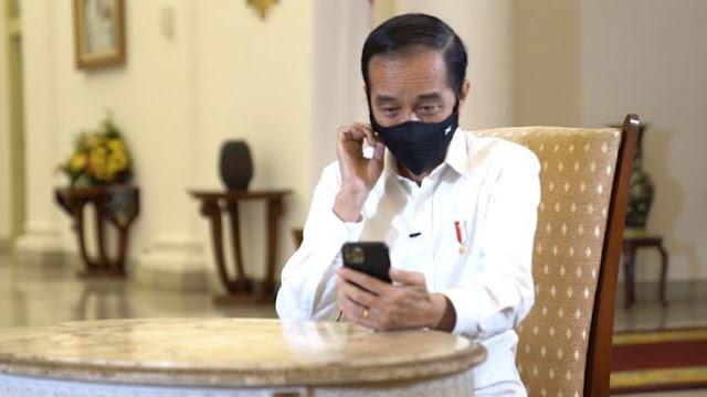 Jokowi: Kita Harus Isi Medsos dengan Berita Keteduhan dan Kesejukan