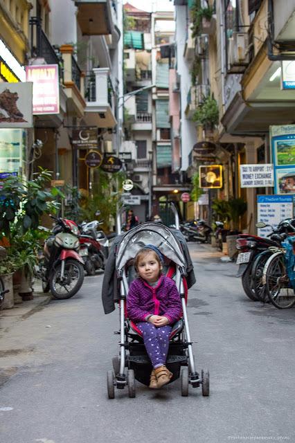 Spacer po Hanoi