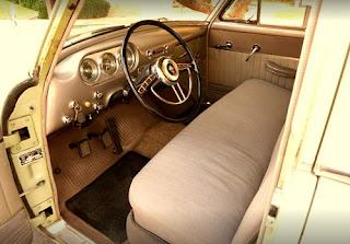 1951 Packard 300 Classic Sedan Dashboard