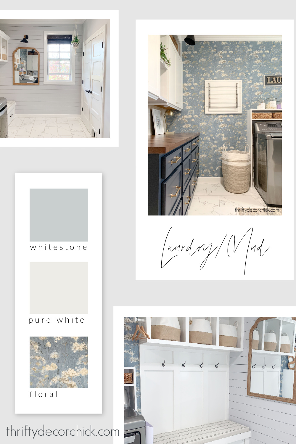 Thrifty Decor Chick laundry paint colors