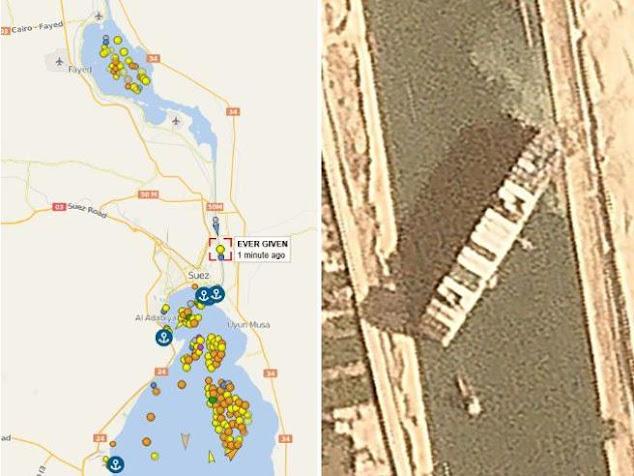 Ancora sospesa la navigazione nel Canale di Suez, ogni giorno si perdono miliardi di dollari