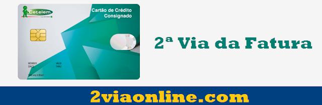Cartão de Crédito Consignado Cetelem: consultar fatura e gerar boleto