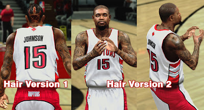 NBA 2K13 Amir Johnson Cyber Face Patch
