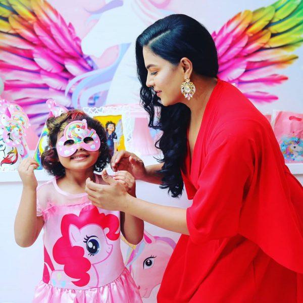 Veena Malik Daughter Amal Birthday