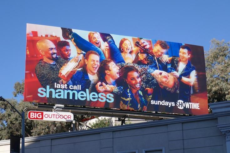 Shameless final season 11 billboard