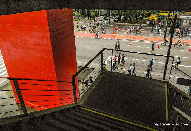 Edifício do MASP, São Paulo, projeto de Lina Bo Bardi