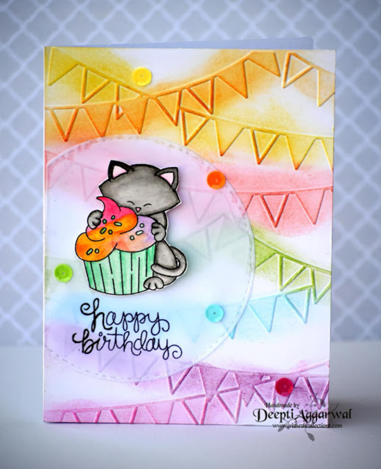 Happy Birthday by Deepti features Newton Loves Cake by Newton's Nook Designs; #newtonsnook