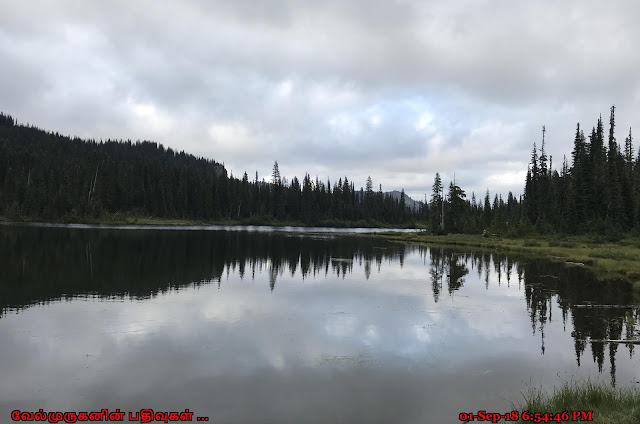 Reflection Lakes Mt Rainier