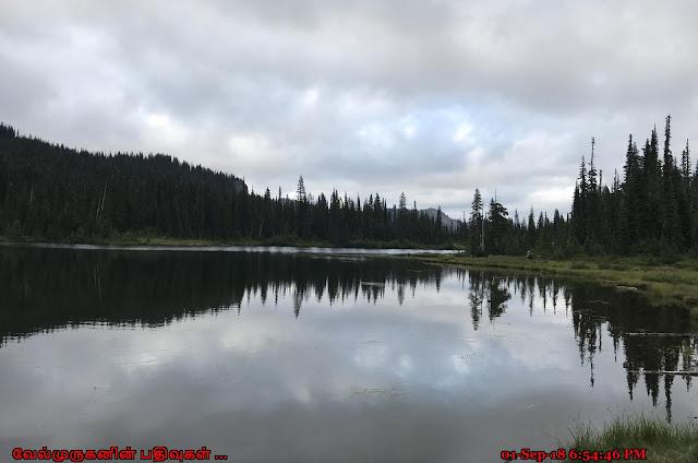 Reflection Lakes Mt Rainier