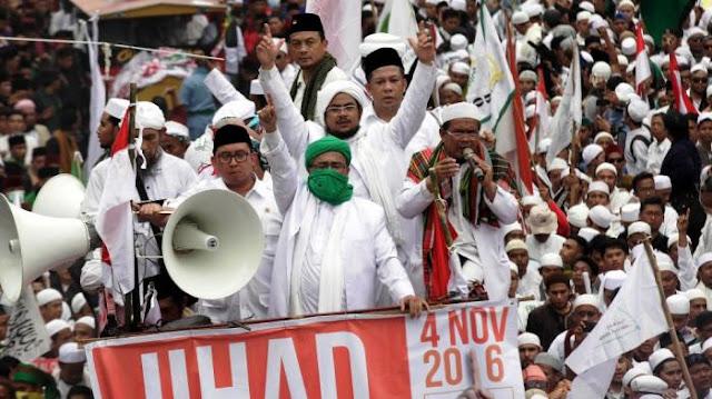 PA 212: Tidak Akan Dukung Siapapun Kelompok Penista Agama