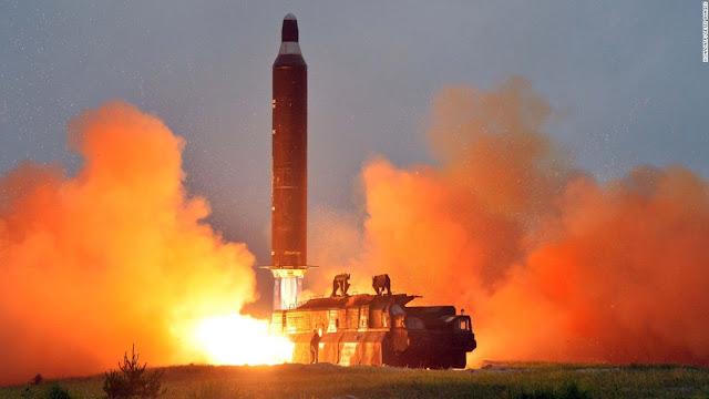 North Korea Missile Test-Firing