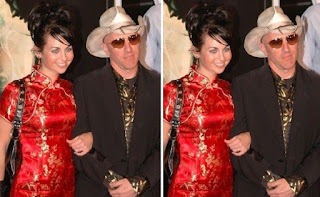 Picture collection of Maynard James Keenan with his wife Lei Li