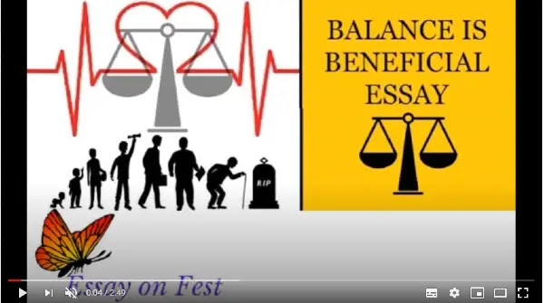 why balance is so important? | balance is beneficial essay