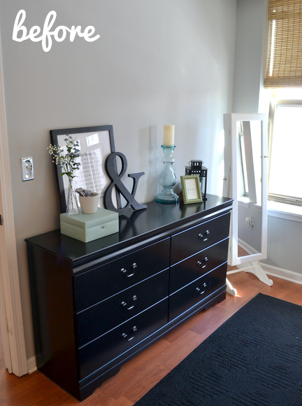 Bedroom Dresser Before