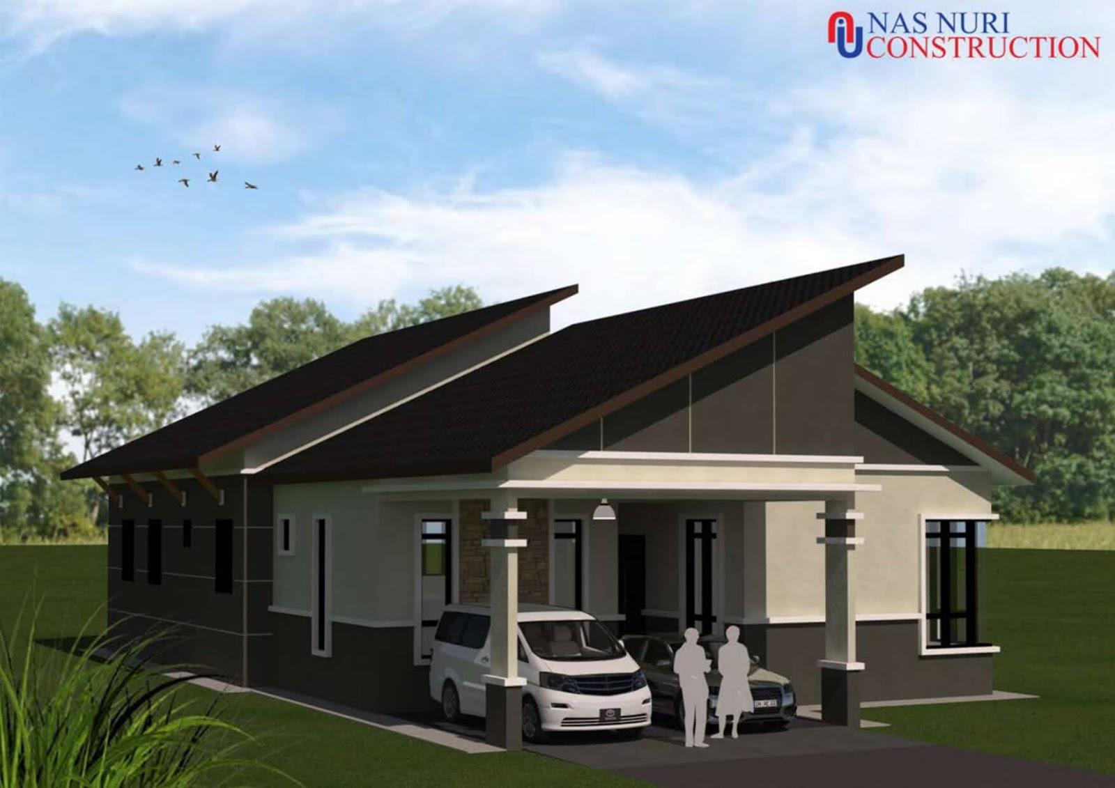 30 Pelan Rumah 1 2 3 Tingkat Percuma Design Banglo Terkini 2021