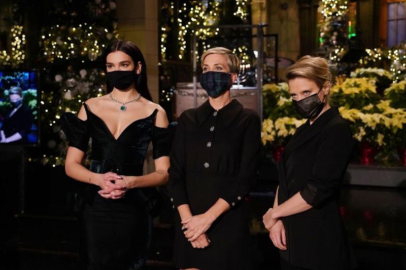 Kate McKinnon,Dua Lipa, Kristen Wiig– Saturday Night Live 17 Dec-2020
