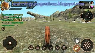 Game yang cukup membuat saya penasaran saat awal kemunculannya The Wolf Online Simulator apk