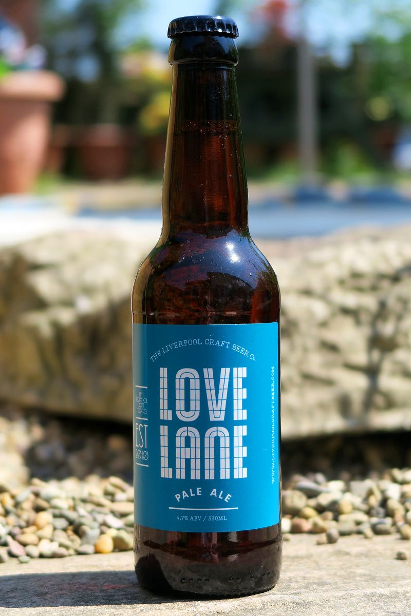 Liverpool Craft Beer Co Love Lane from The Beer Isle June Subscription Box - North West England