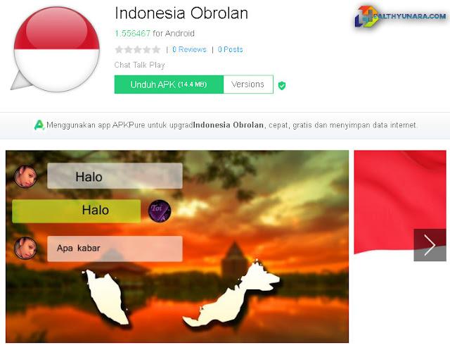 Indonesia obrolan aplikasi cari jodoh