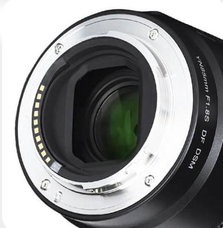 Байонетное крепление объектива Yongnuo YnLens YN85mm f/1.8S DF DSM для Sony E