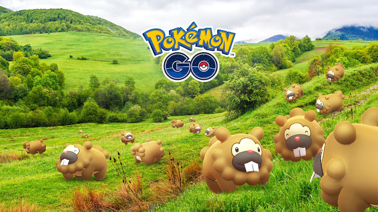 Pokémon GO Dia de Bidoof