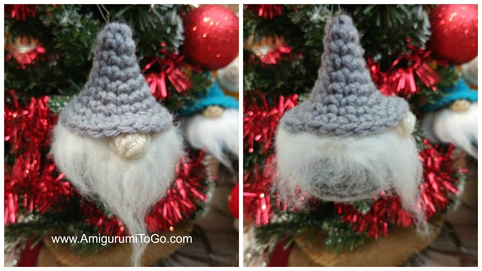 Amigurumi Santa Claus Gnome Free Pattern » My Eat Book | 902x1600