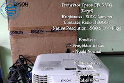 Proyektor Epson EB-S300 SEGEL (Second)