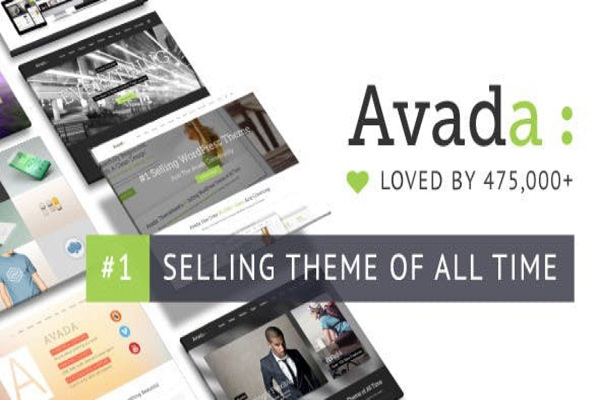 Avada ECommerce Wordpress Template