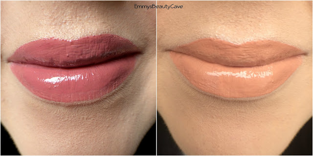 Anastasia Beverly Hills Lip Gloss Lip Swatches Vintage Undressed