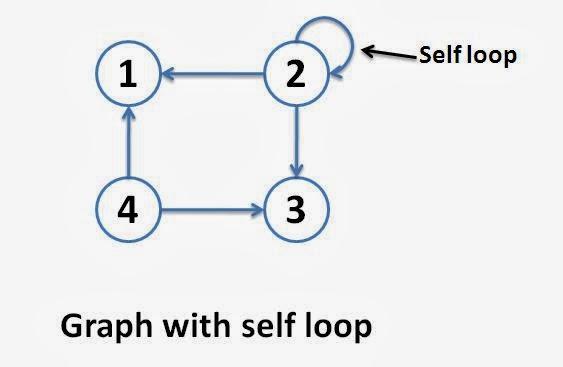 Self Edges or Self Loops