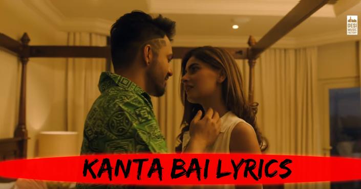 Kanta Bai Lyrics Tony Kakkar