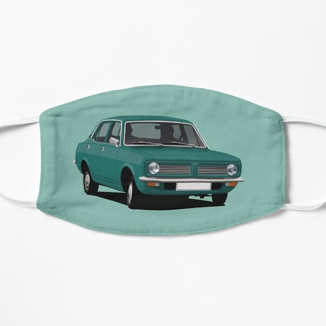 Morris Marina face masks - turquoise