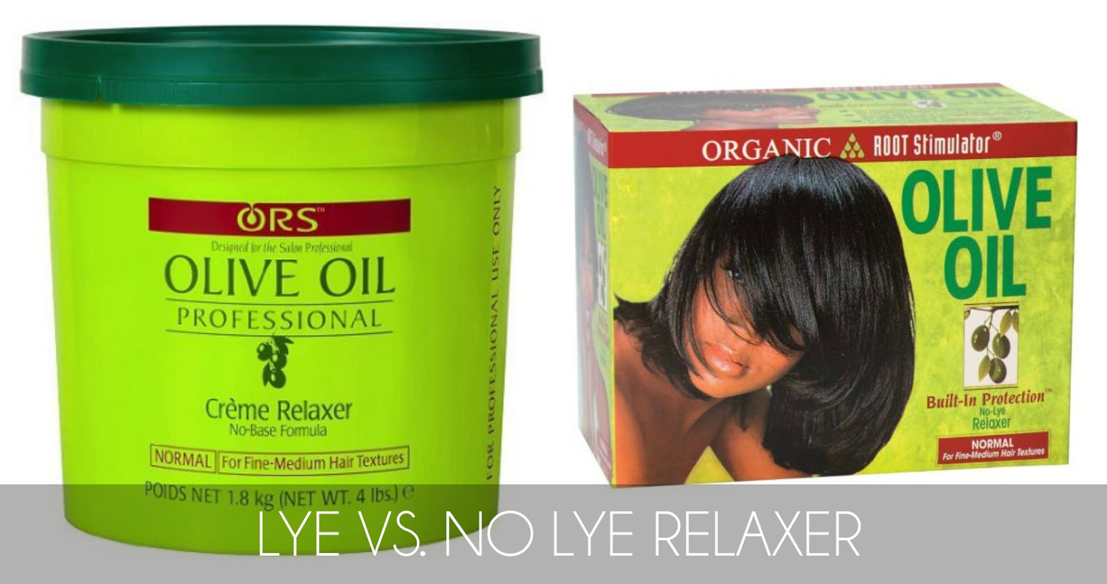 hair question lye vs no lye relaxer the difference pros and