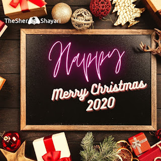 {New} Merry Christmas 2020 (मेरी क्रिसमस ) Wishes, Shayari, Messages In Hindi