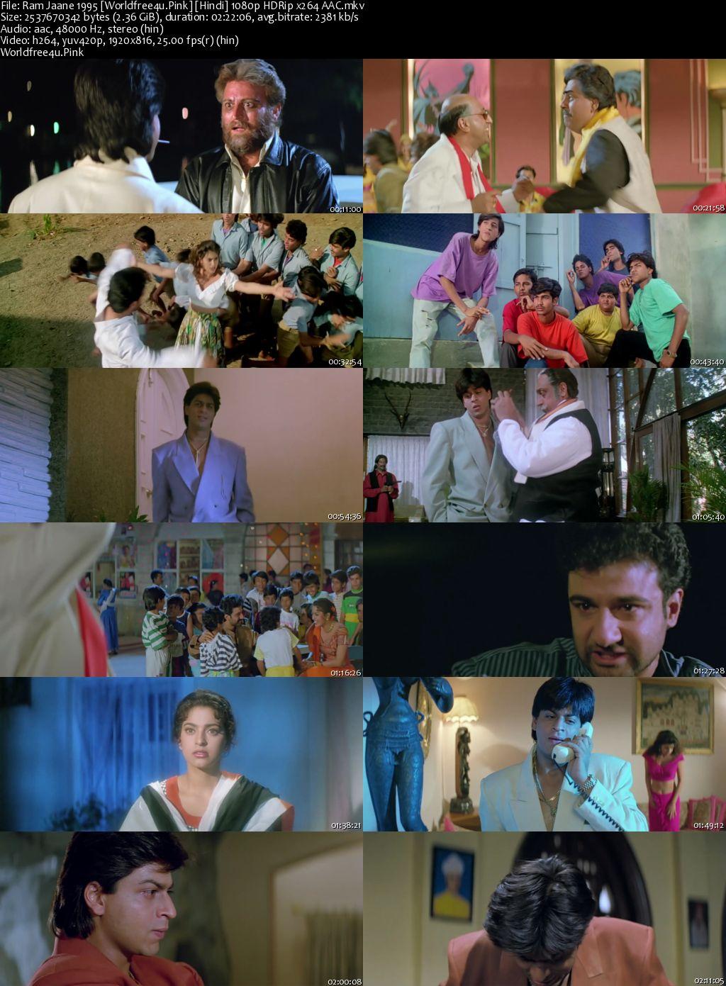 Ram Jaane 1995 Hindi HDRip 1080p