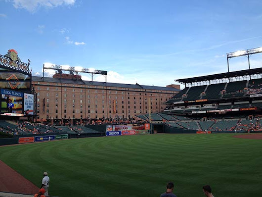 Visiting the Baltimore Orioles at Oriole Park at Camden Yards