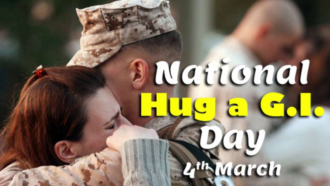 National Hug a G.I. Day Wishes pics free download