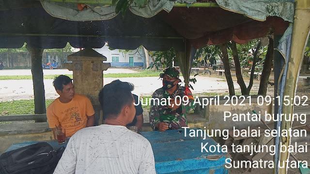 Dengan Komsos Personel Jajaran Kodim 0208/Asahan Jalin Silaturahmi Dengan Warga Binaan