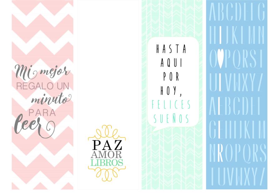Miss Agenda Limón: DIY Marcapáginas Imprimibles Y