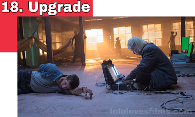 Upgrade Logan Marshall-Green 2018 movie