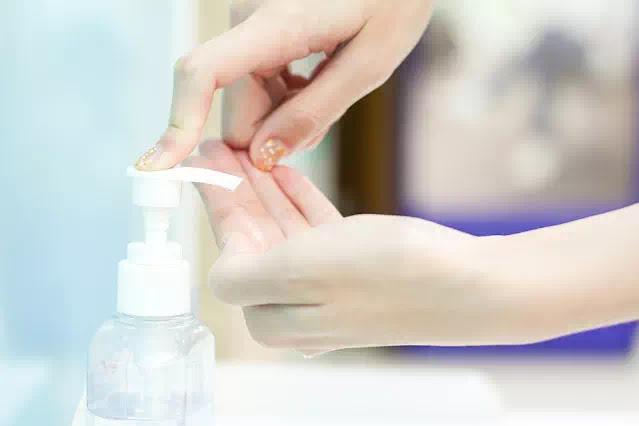 NUVO Hand Sanitizer dan Hand Soap
