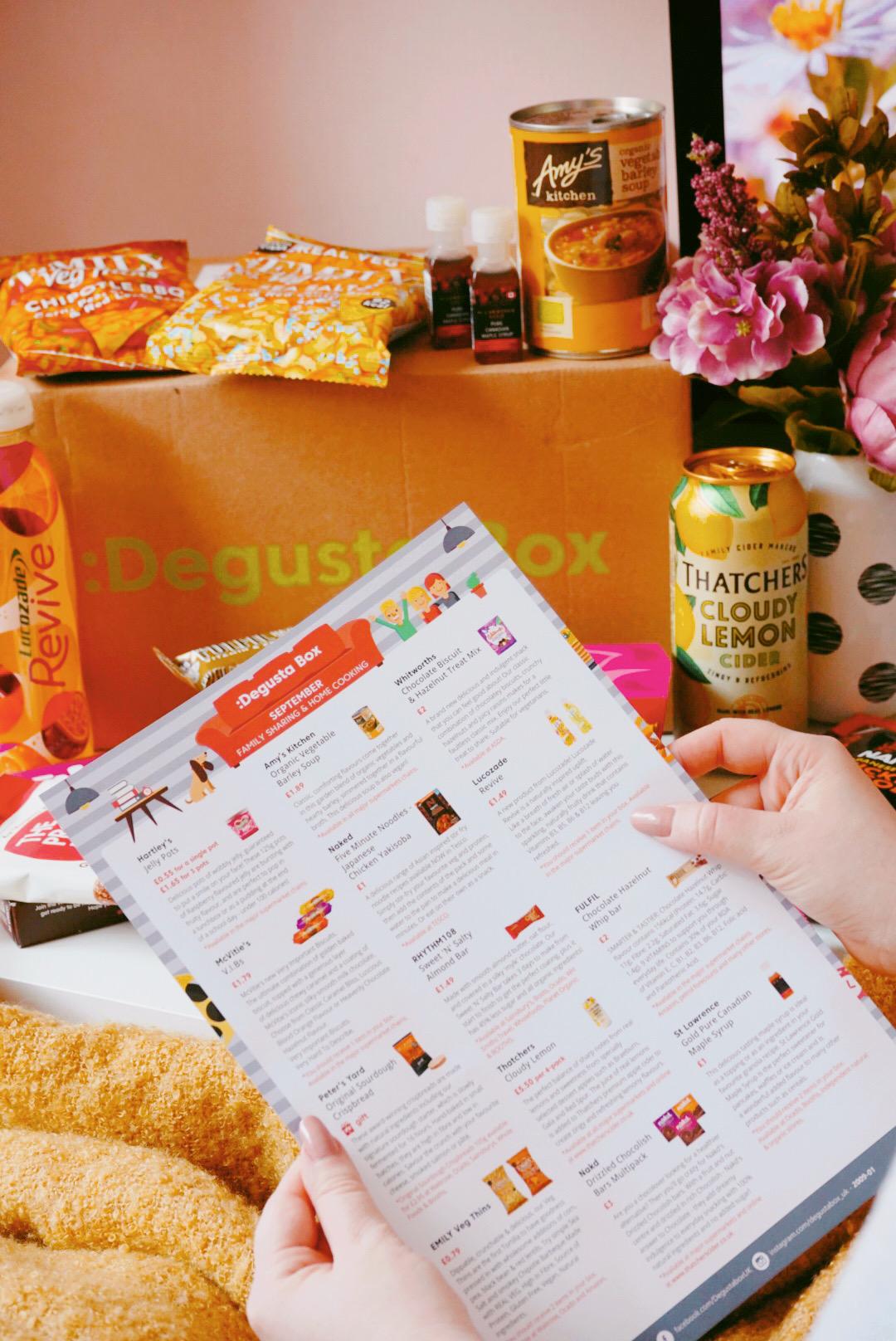 DegustaBox - September 2020