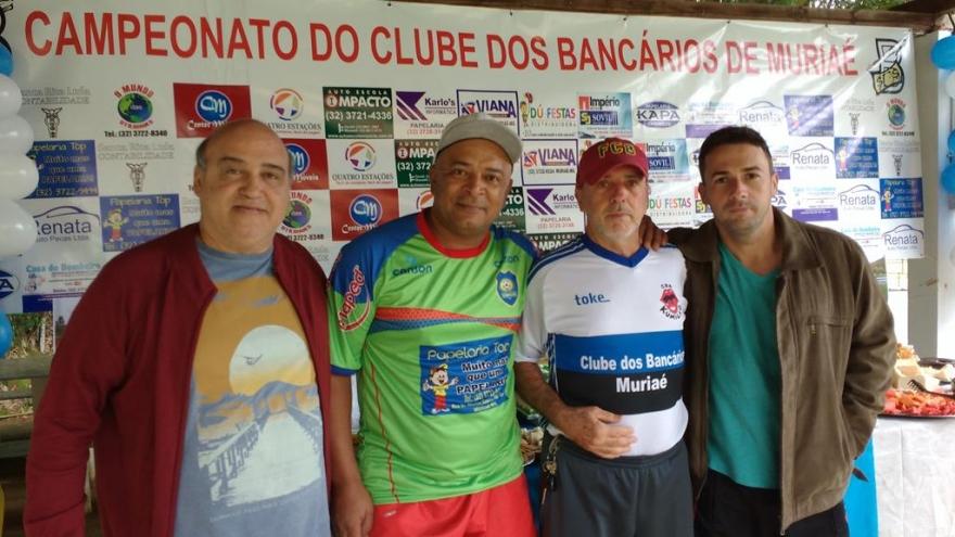 Resultado de imagem para fotos do time do Império dos Metais do campeonato do clube dos Bancários de Muriaé