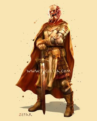 Zepar the Duke of Hell in the Ars Goetia of the Lesser Key of Solomon