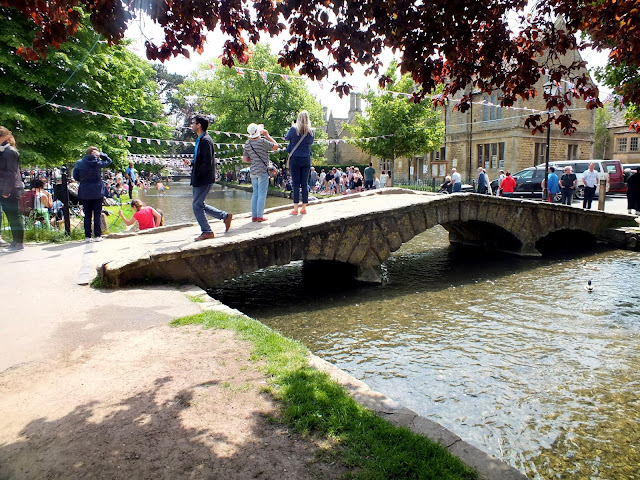 Bourton-on-the-wather in The Cotswolds