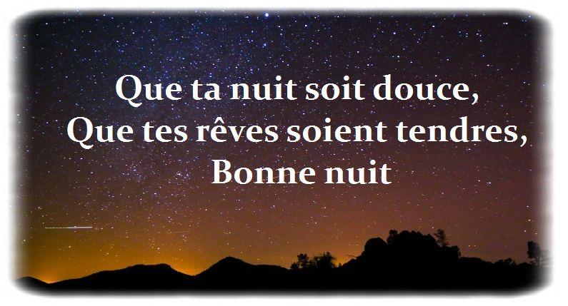 Message Douce Nuit