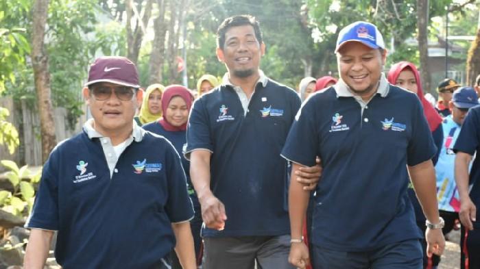 Wakil Ketua DPRD Sinjai Apresiasi Gerak Jalan Santai HKN